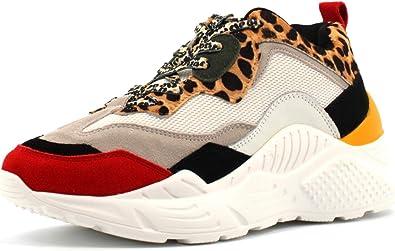 equilibrado Fracción Afirmar  Amazon.com: Steve Madden Antonia - Zapatillas deportivas para mujer: Shoes