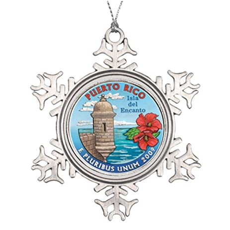 xmas trees decorated puerto rico latina tropical photo frame christmas snowflake ornaments