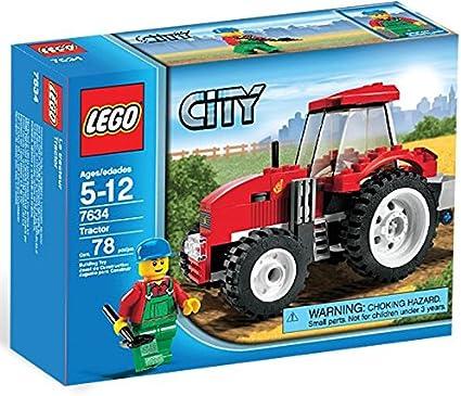 Amazon Com Lego City Set 7634 Tractor Farm City Toys Games