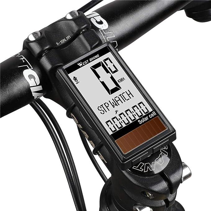 Lixada Computadora de Bicicleta Inalámbrico Impermeable Célula ...