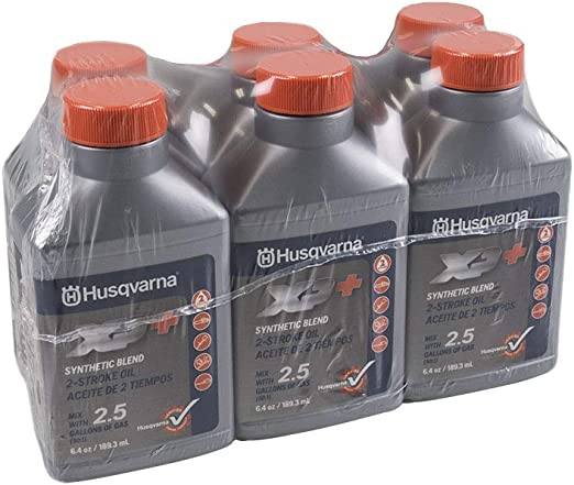 Amazon.com: Husqvarna XP 2 Stroke Petróleo 6,4 oz. Botella 6 ...