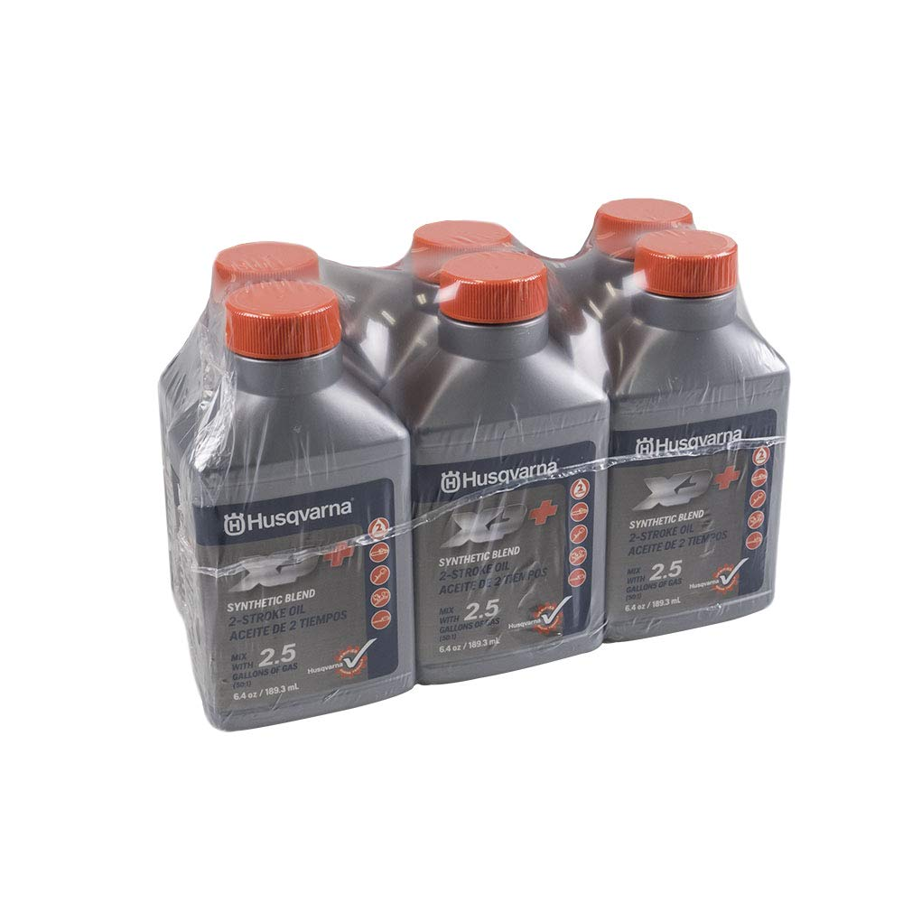 Husqvarna XP 2 Stroke Oil 6.4 oz. Bottle 6-Pack