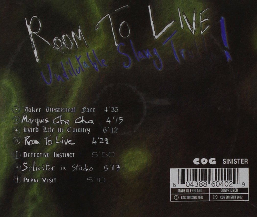 Room to Live by Cog Sinister Us