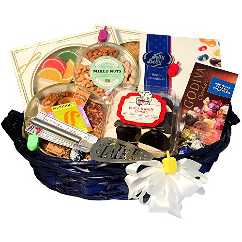 8 Days Of Hanukkah Kosher Gift Basket