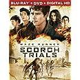 Maze Runner: The Scorch Trials Blu-Ray + DVD + DHD