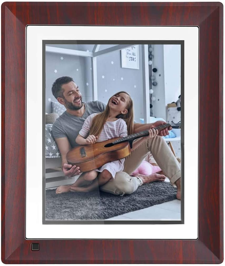 Digital Picture Frame 12 Inch with IPS Screen Motion Sensor 1920×1080 High Resolution, Digital Photo Frame Support 1080P Video Music Slideshow Calendar