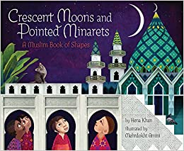 Image result for crescent moons and pointed minarets