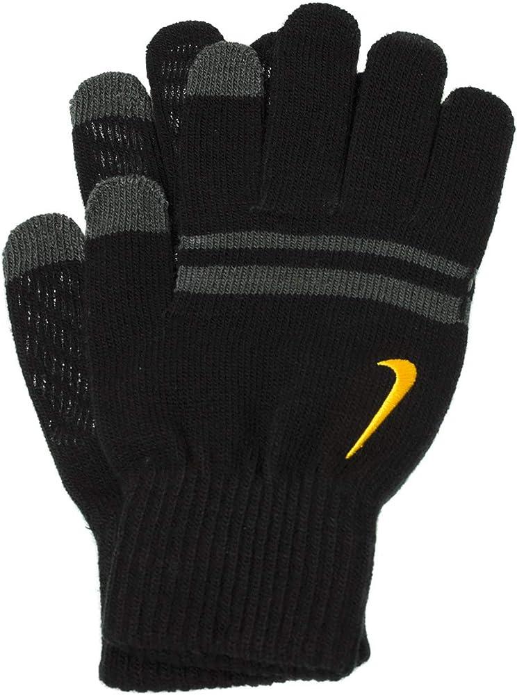 Iniciar sesión móvil Robar a  Nike Guantes de Punto Tech and Grip para Hombre, Color Negro y ...