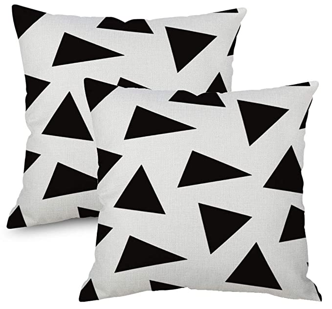 ZebraSmile Solid Color Cushion Cover Set of 2 Vivid Sofa Pillow Cover Throw Pillow Cover Set 18 x 18 Inch Pillow Cover for Car Decorative Couch Cushion Cover for Sofa Living Room Gray