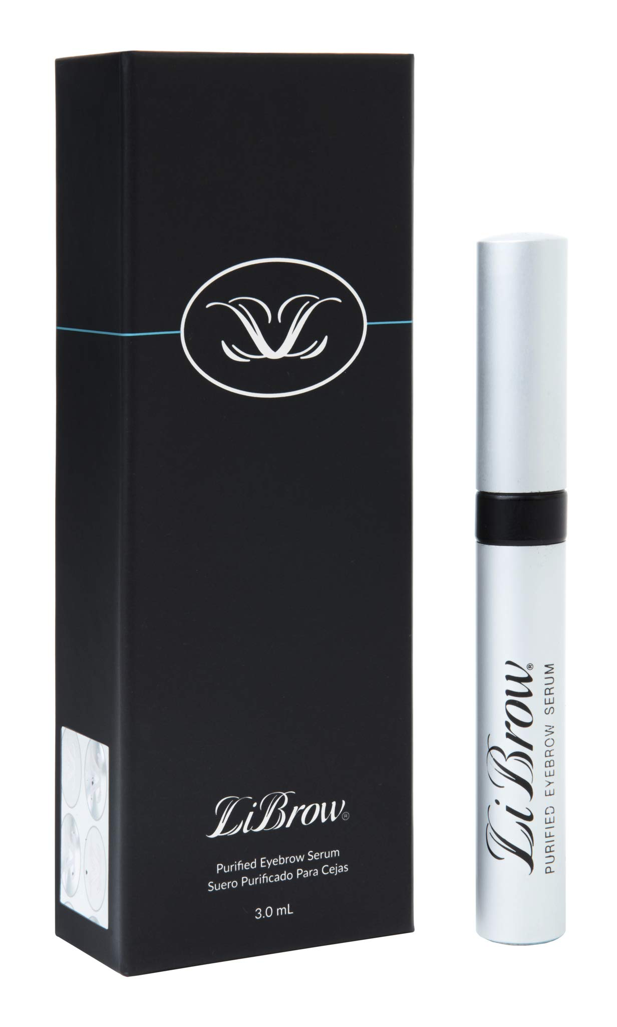 LiBrow Purified Eyebrow Physician-Formulated Serum for Fuller & Thicker Looking Eyebrows | Natural Eyebrow Enhancer Safe for Sensitive Skin | 90-Day Supply (3ml) by LiBrow