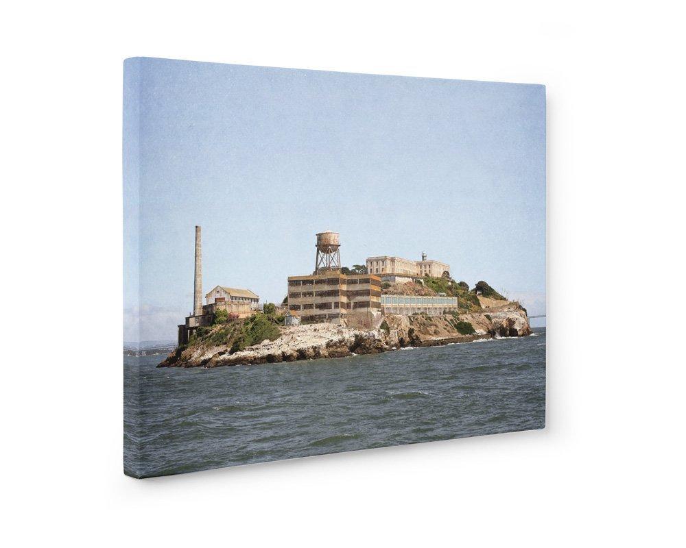 Large Format Print, Canvas or Unframed, San Francisco Wall Art, SF Historical Landmark Decor, Alcatraz'