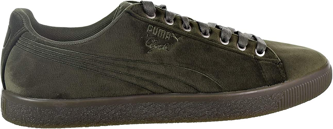 comprar online completamente elegante venta de descuento Amazon.com | PUMA Mens Clyde Velour Ice Casual Sneakers, | Shoes