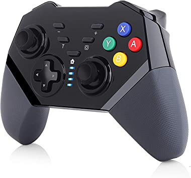 TUTUO Mando para Nintendo Switch, Wireless Bluetooth Pro Controller Controlador Inalámbrico Compatible con Nintendo Switch/Lite: Amazon.es: Electrónica