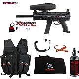 Tippmann X7 Phenom Maddog Lieutenant HPA Attack Vest Paintball Gun Package