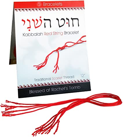 Kabbalah Red String Bracelet  tying instructions  Ben Porat prayer Protection