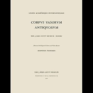 Corpus Vasorum Antiquorum, Fascicule 10: Athenian Red-Figure Column and Volute Kraters