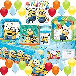 Despicable Me 3 Deluxe Minion Party Pack Bundle
