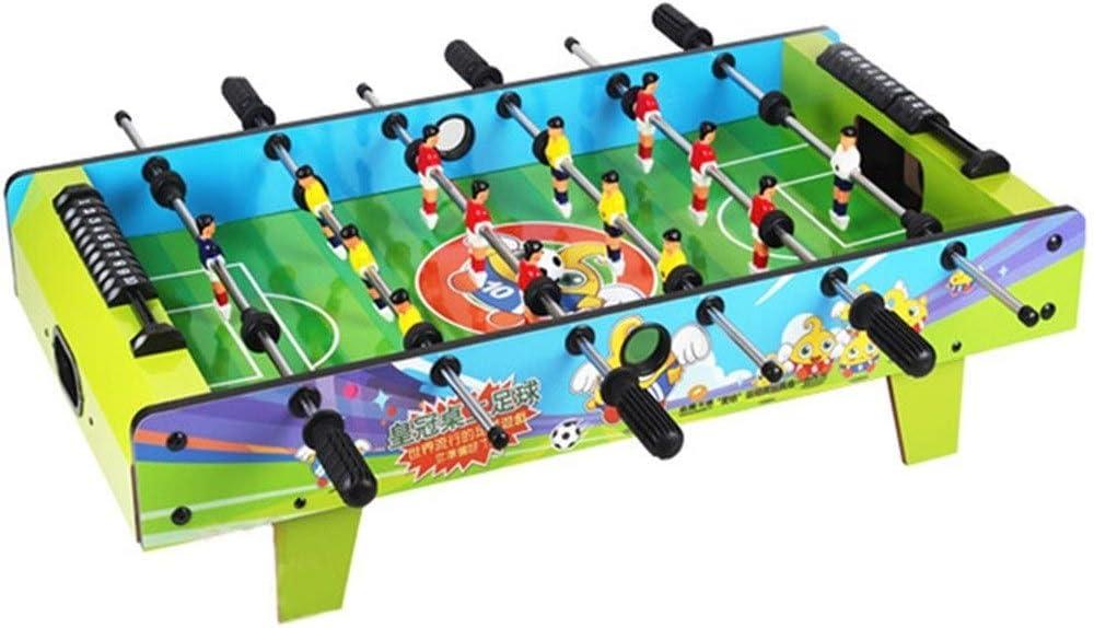Futbolines Junta Juego Educativo Hockey de Mesa de Escritorio Partido de fútbol Tabla Doble Padres e Hijos Juguete Interactivo niños (Color : Green, Size : 81.6 * 43 * 21cm): Amazon.es: Hogar