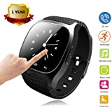 Bluetooth Smart Watch Touch Screen Men Women Smartwatch LED Light Display Wrist Watch with Dial Call Answer Music Player for Samsung S8 Plus S7 Edge S6 S5 Note 8 5 4 3 J7 J5 LG Huawei Motorola