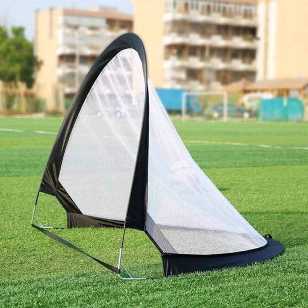 Filets de Football Portables avec Sac de Transport pour Enfants et Adultes TOPmountain But de Football Pop-up