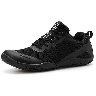 WHITIN Men's Barefoot Trail Runner, Minimal in Foot-Shaped, Zero-Drop Footwear   Road Running