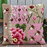 Twilleys - Vintage Revival - Cross Stitch Cushion Front Kit (large count) by Twilleys