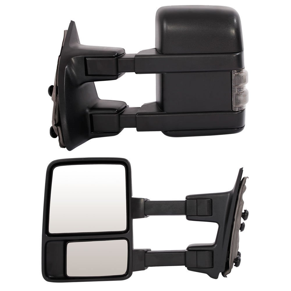 Chevy Tow Mirrors for 1999-2006 Chevy Silverado GMC Sierra Truck Towing Mirrors Manual Telescoping Side Mirrors Pair Set Roadstar