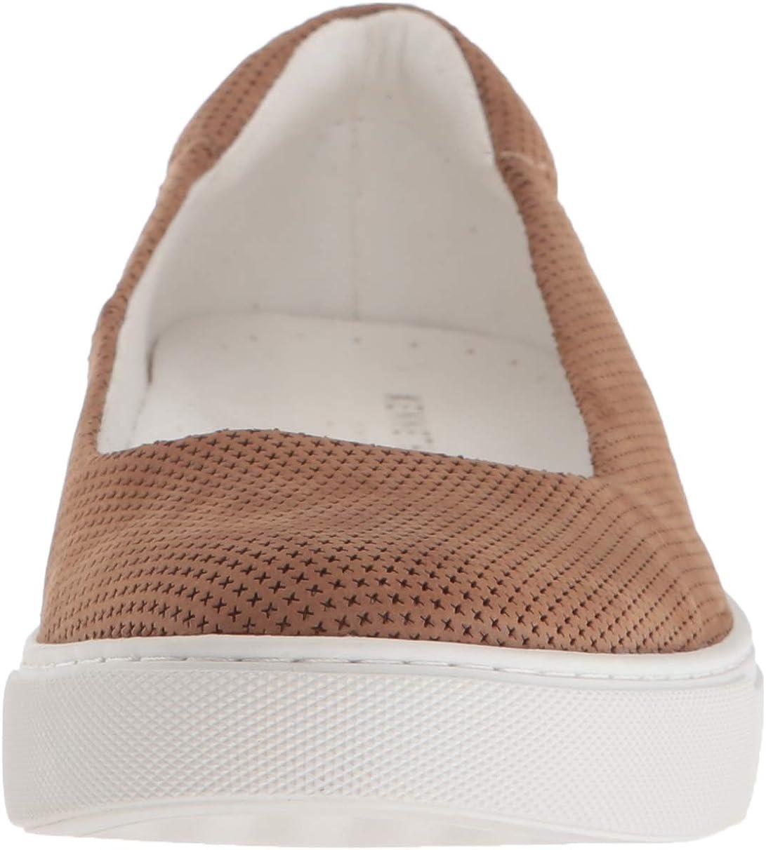 Kenneth Cole New York Women's Kassie 2 Perf Skimmer Slip on Ballet Flat Sneaker Almond