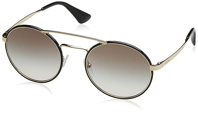39a91c9c8fe7 Prada Women s Gradient PR51SS-1AB0A7-54 Multicolor Round Sunglasses ...