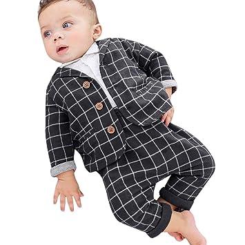 Amazon.com: Conjunto de ropa para traje de boda, 0 – 2 años ...