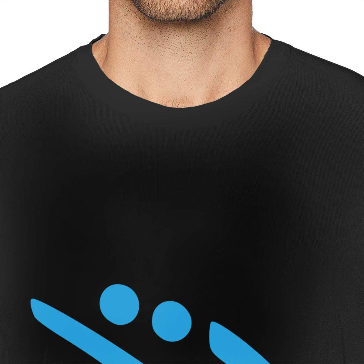 Casual Shirt for Men Teenagers ZlTRNNc Bobsleigh Mens Shirt Short Sleeve T-Shirt