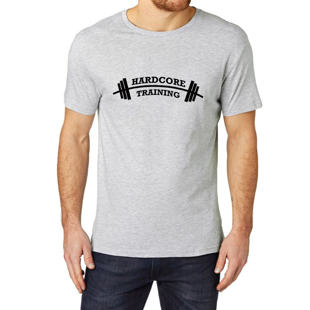 Loo Show Hardcore Training Graphic Ness Gym Workout T Shirt Tee