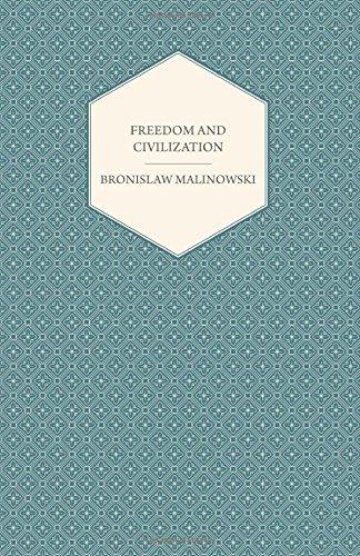 Freedom and Civilization PDF