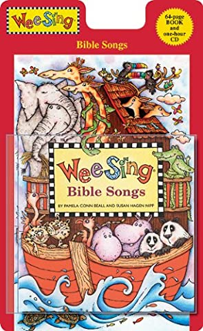 Wee Sing Bible Songs (Wee Sing) CD and Book Edition - Action Cd
