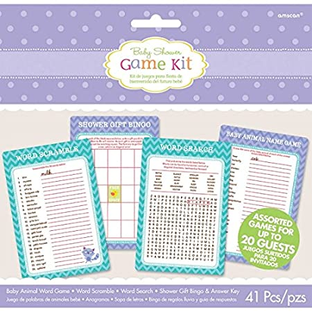 Woodland Welcome Game Kit Amscan 381452