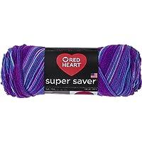 Super Saver Yarn, Grape Fizz, 215m, 96% Acrylic and 4% Other fibers - 1