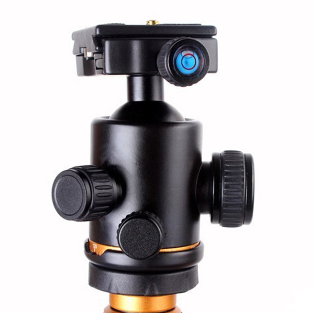 Qzsd Q777 Aluminum Alloy Portable Traveling Tripod Beike 02 Q666 Monopod Stand With Ball Head For Digital Camera And Camcorder Photo