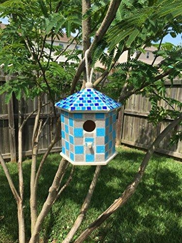 - Mosaic Birdhouses