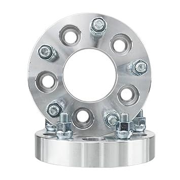 2pcs rueda adaptadores 5 x 114.3 a 5 X 127 1,25 en hubcentric rueda ...