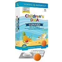 Nordic Naturals Children's DHA Gummies - Children's Omega-3 Fish Oil Supplement...