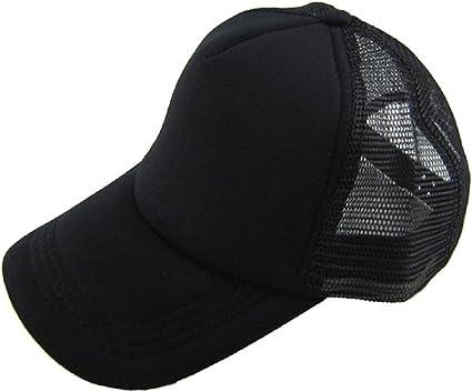 Tongshi Sombrero Casual Unisex Solid Gorra de béisbol del ...