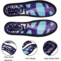 Orthotic Insoles for Men & Women, Leegoal Orthotic Shoe Insoles Full Length Plantar Fasciitis Inserts with Arch Support for Supination, Flat Feet, Heel & Foot Pain, High Arch