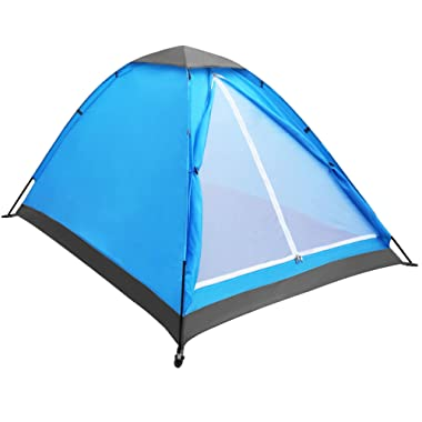 Yonovo Upgraded Lightweight 2 Person Camping Backpacking Tent With Carry Bag, Small Package