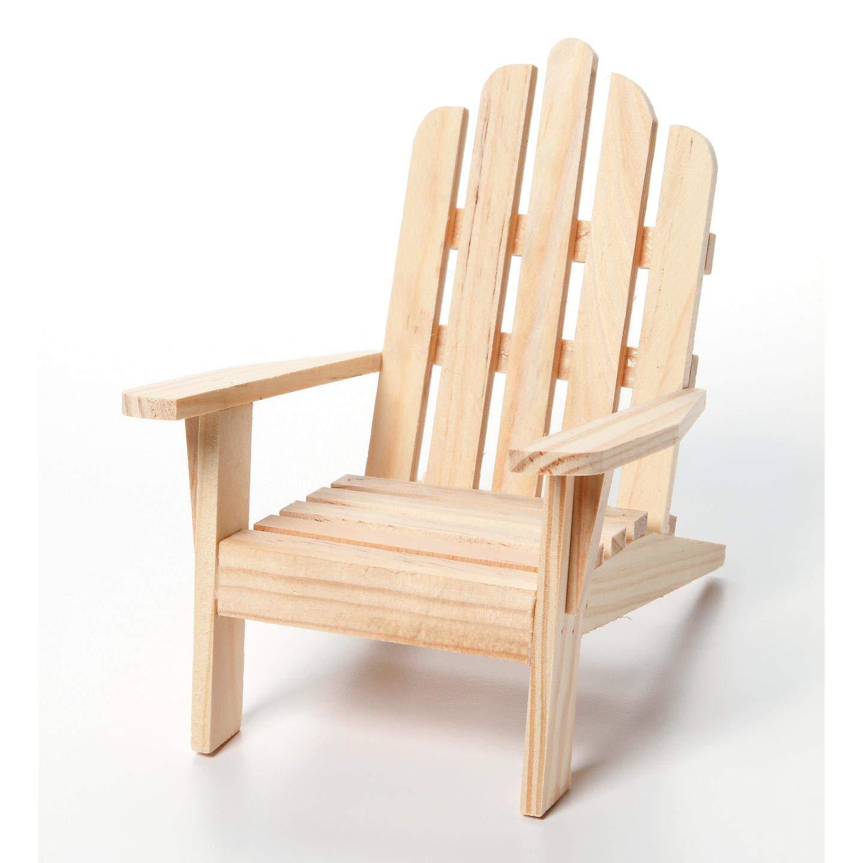 Amazon com bulk buy darice diy crafts chair wood unfinished 6 pack 9132 66