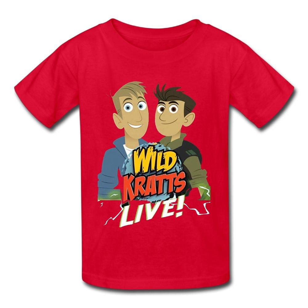 Jackson 6-24 Month Baby T-Shirt Wild Kratts Logo Personalized Fashion Customization Red Vito H