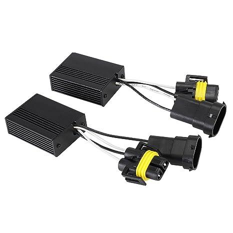 novsight 2pcs décodeurs de coche canbus anti-erreur para 9005/9006/H1/