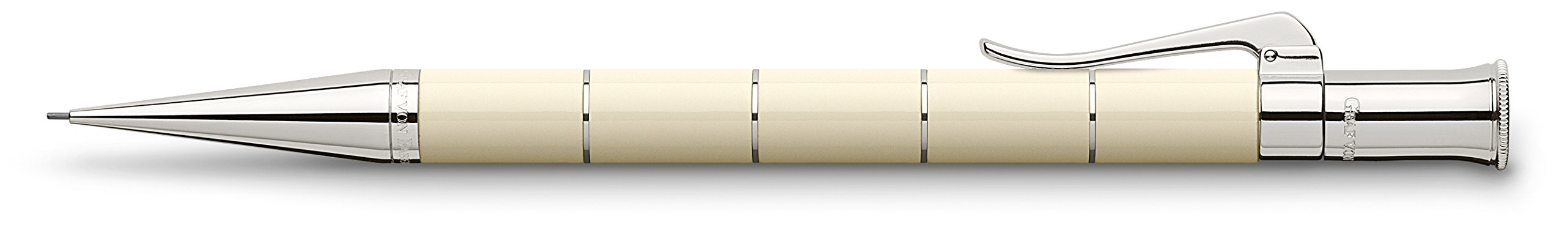 Graf von Faber-Castell Classic Anello Ivory Pencil - Ivory, .7mm 135690