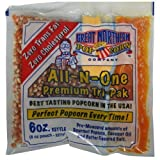 great northern popcorn 6 ounce - Great Northern Popcorn 1 Case (24) of 6 Ounce Premium Quality Popcorn Portion Packs Kit Cinema by Great Northern Popcorn Company