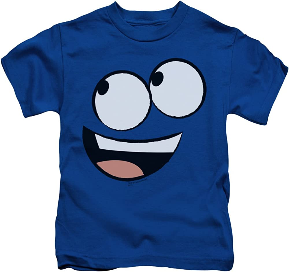 Sons of Gotham Foster's Home for Imaginary Friends Blue Face Kid's T-Shirt (Ages 4-7) 5/6 Blue 61sla9KSX1L
