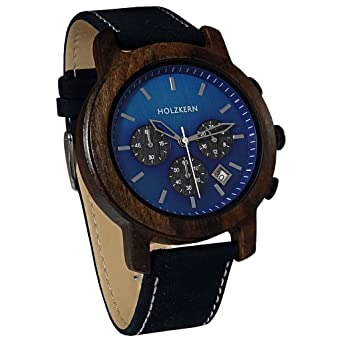 nouveau produit dc8d1 ce2e6 Montre en bois de santal Holzkern - Pour homme - Bracelet en ...